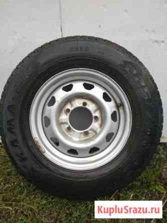 Зимние колеса кама r16 на УАЗ Атемар