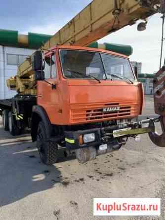 Автокран камаз 25т 2007г Красноярск
