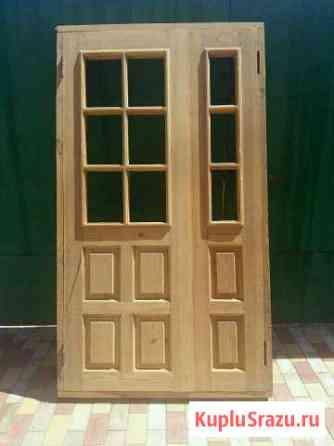 Двери двустворчатые межкомнатные Сары-Тюз
