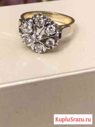 Кольцо с бриллиантами Свердлова
