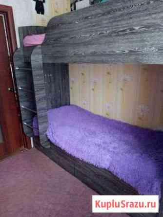 Кровать 2 х ярусная Черногорск