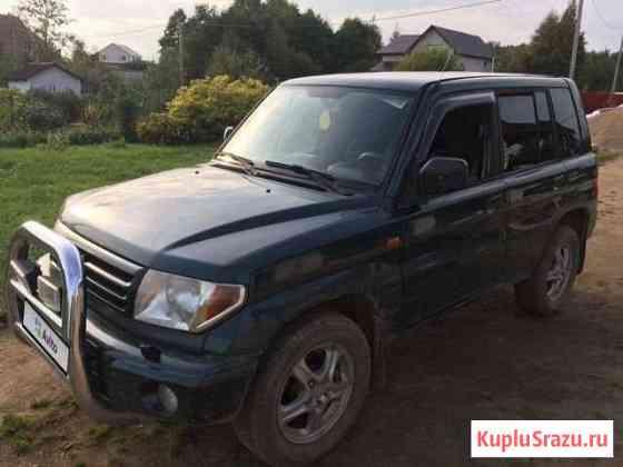 Mitsubishi Pajero Pinin 1.8МТ, 2002, внедорожник Валдай