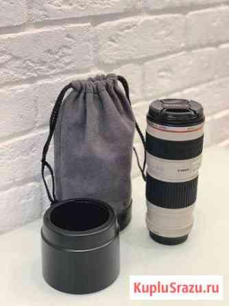 Объектив Canon EF 70-200mm f/4L USM Красноярск