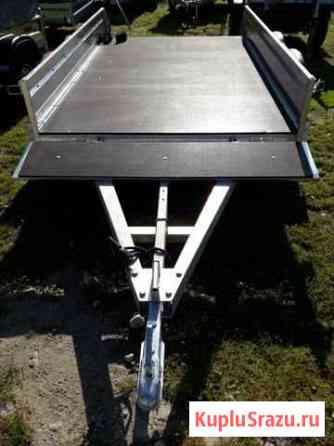 Двухосный оцинкованный прицеп 2.5х1.5 м без колес Кострома