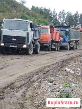 Привезу песок щебень отсев землю навоз Петрозаводск