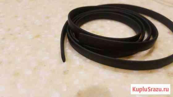 Ювелирный каучуковый шнурок прямоугольный 2*5 мм Липецк