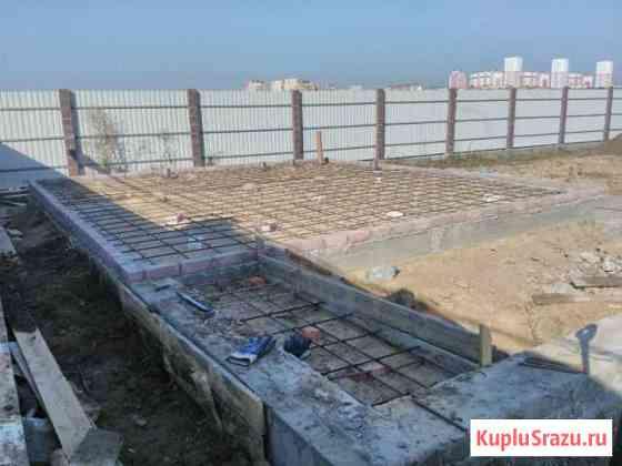 Фундаменты,ушп, отмостка, отделочные работы, бетон Линда