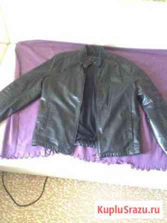 Куртка кожанная Омск