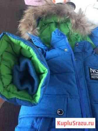 Зимняя куртка на мальчика размер 110 (3-5) лет Майма
