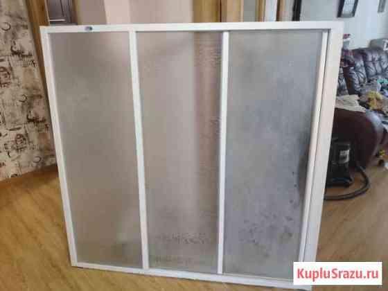 Стеклянная штора для ванной Томск