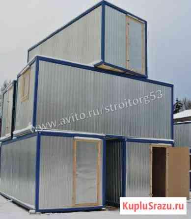 Металлический блок-контейнер бк(003) б/у Великий Новгород