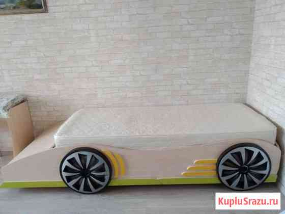Кровать машина с матрасом Барнаул
