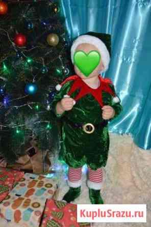 Новогодний костюм эльфа. Сшит на заказ Рузаевка