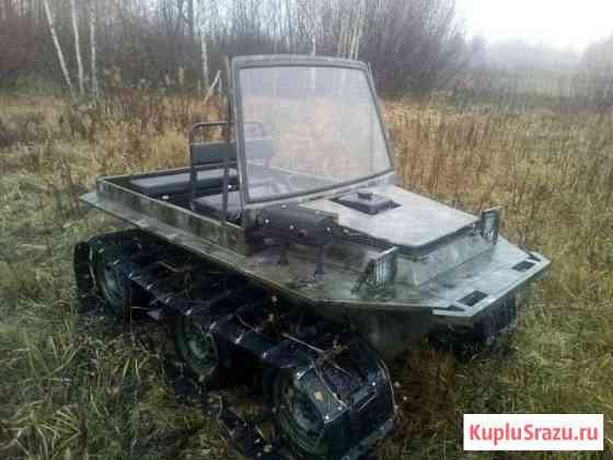 Легкий гусеничный вездеход Кострома