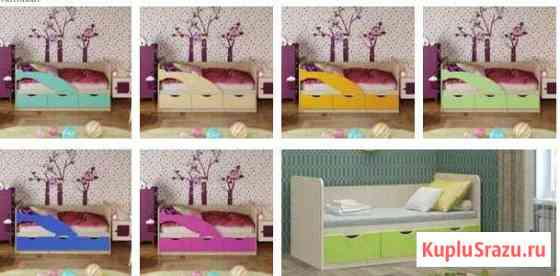Детская кровать Орджоникидзевская