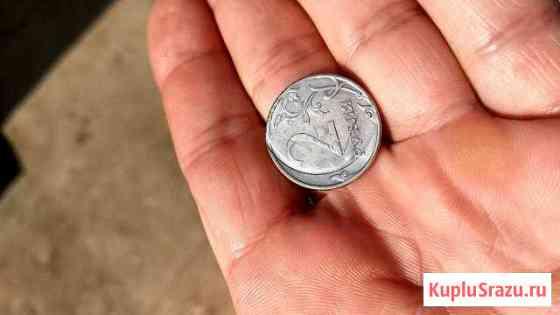 Монета.2 рубля.Брак Севастополь