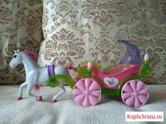 Карета для золушки с лошадью Раменское