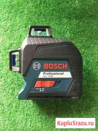 Лазерный уровень bosch GLL 3-80 + кейс Омск