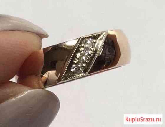 Золотое кольцо «Чалма» с бриллиантами, СССР Петропавловск-Камчатский