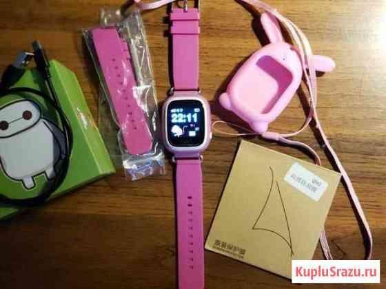 Часы Smart Baby Watch Q90 с сенсорным экраном Клин