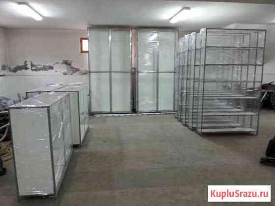 Торговое оборудование, (витрины и стеллажи) Владикавказ