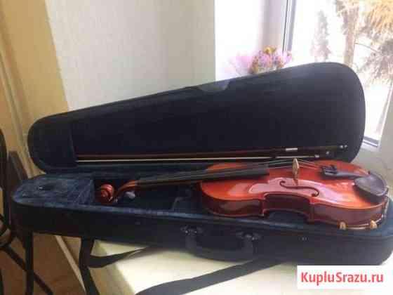 Продам скрипку 4/4. Комплект: смычок, мостик, чехо Омск