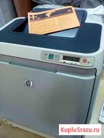 Принтер HP CLJ1600 цветной лазерный Новосибирск