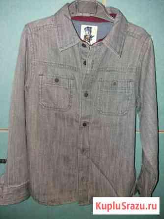 Джинсовая рубашка б/у Севастополь