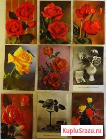 Набор открыток № 1 (цветы) Германия. 27 шт Жуковский