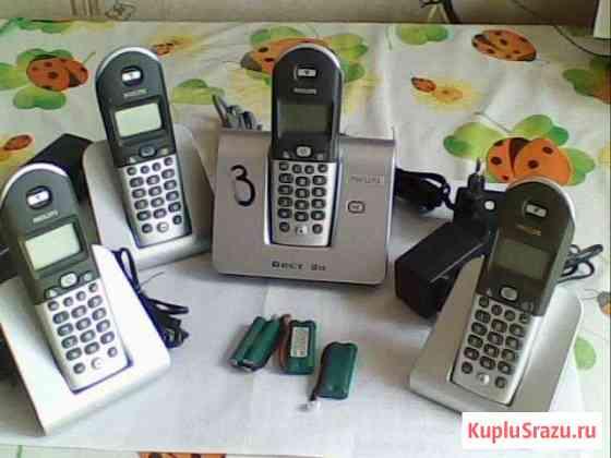 Радиотелефон Филипс на 4 трубки Видное