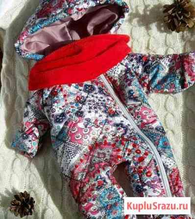 Комбинезон,шапочка и снуд на кнопке для куклы беби Ставрополь