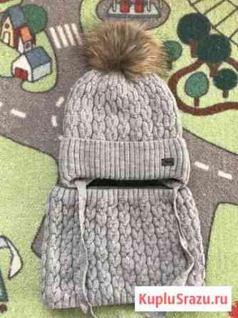 Шапка + снуд (зима) 52см Оренбург