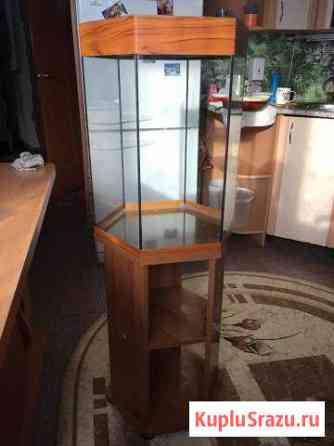 Аквариум 50 литров с тумбочкой Бокино