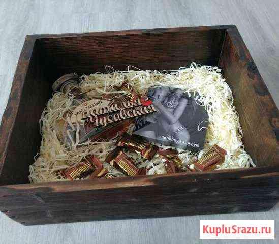 Подарочный набор в ящике Псков
