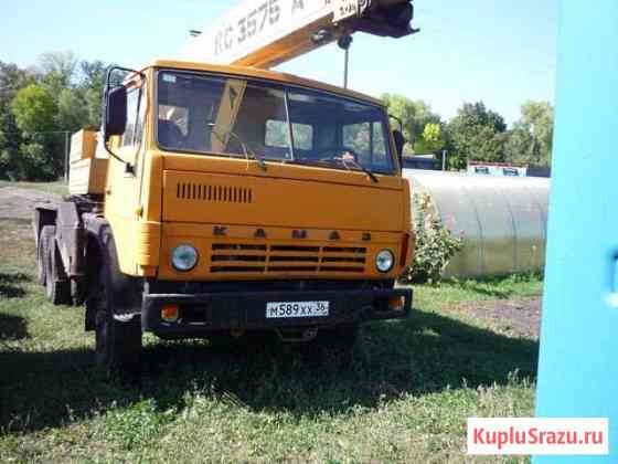 Автокран Камаз кс 3575 А 1992г Усмань