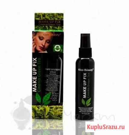 Спрей-фиксатор для макияжа Make Up Fix Green Tea Чита