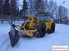 Машина снегоуборочная дм-15 на базе К701