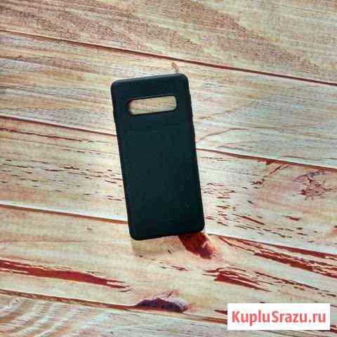 SAMSUNG Galaxy S10 чехол силиконовый цветной Барнаул