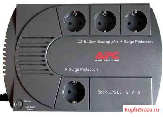 Ибп APC Back-UPS ES 525 рабочий, проверен, без акб Санкт-Петербург