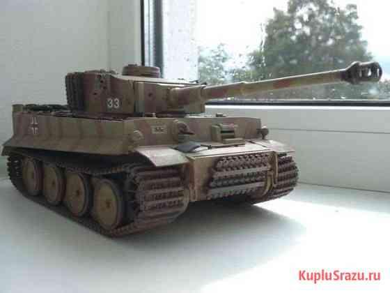 Модель танк немецкий тяжелый Т-6 Тигр масштаб 1-35 Брянск