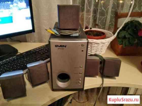 Компьютерная аудиосистема 5.1 Sven sps-850 Челябинск