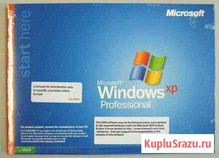 Microsoft Windows XP Professional OEM Воронеж