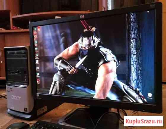 Игровой i3 компьютер с монитором Омск