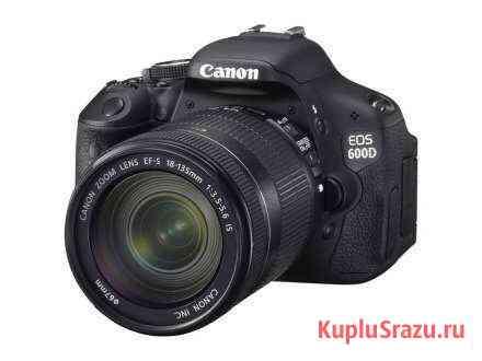 Фотоаппарат Canon 600d Kit идеальный Барнаул