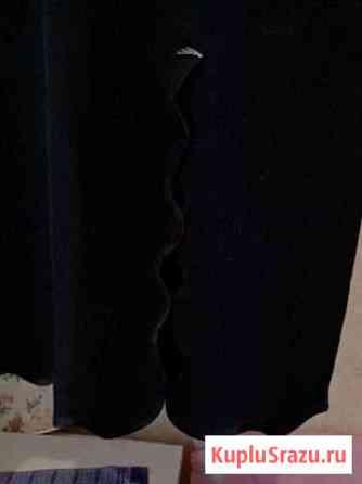 Юбка чёрная из тяжолого шёлка Волосово
