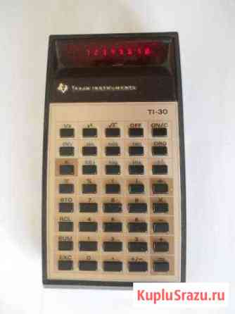 Калькулятор Texas Instruments TI-30, США Калязин