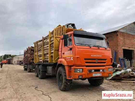 Камаз 43118 с гм омлт 70-02 и прицепом Нефаз Вологда