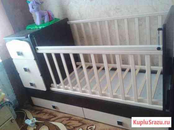 Детская спальная кровать трансформер Хомутовка