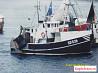 Шведский рыболовный бот(тральщик креветколов)