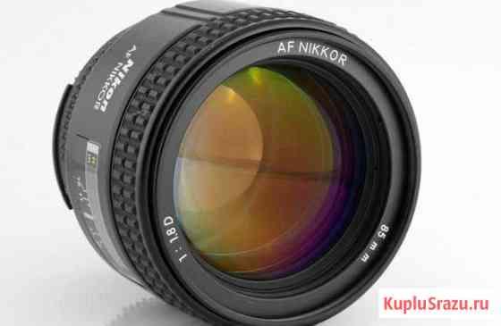 Nikon AF Nikkor 85mm 1:1.8D Барнаул